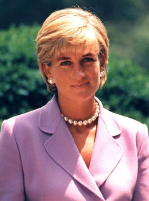 A Picture of Princess Diana two months before her death