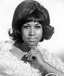Aretha Franklin in the Hall of Fame