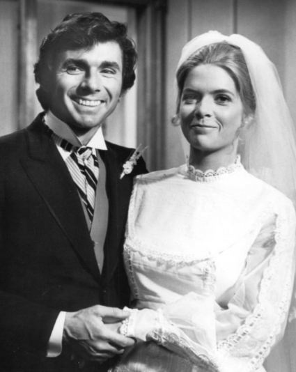 Meredith Baxter and David Birney from the show Bridget Loves Bernie