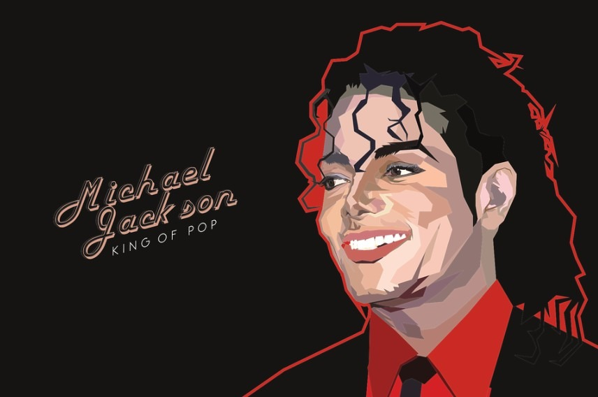 Michael Jackson's illustration