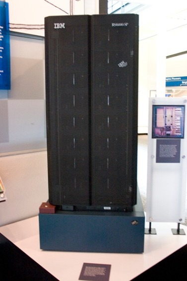 One of the two racks of the supercomputer, Deep Blue