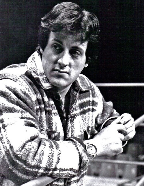 Sylvester Stallone, the lead actor in Rocky