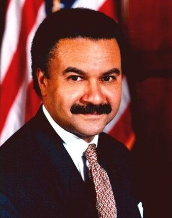 The United States Secretary of Commerce Ron Brown