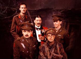 the cast of Blackadder